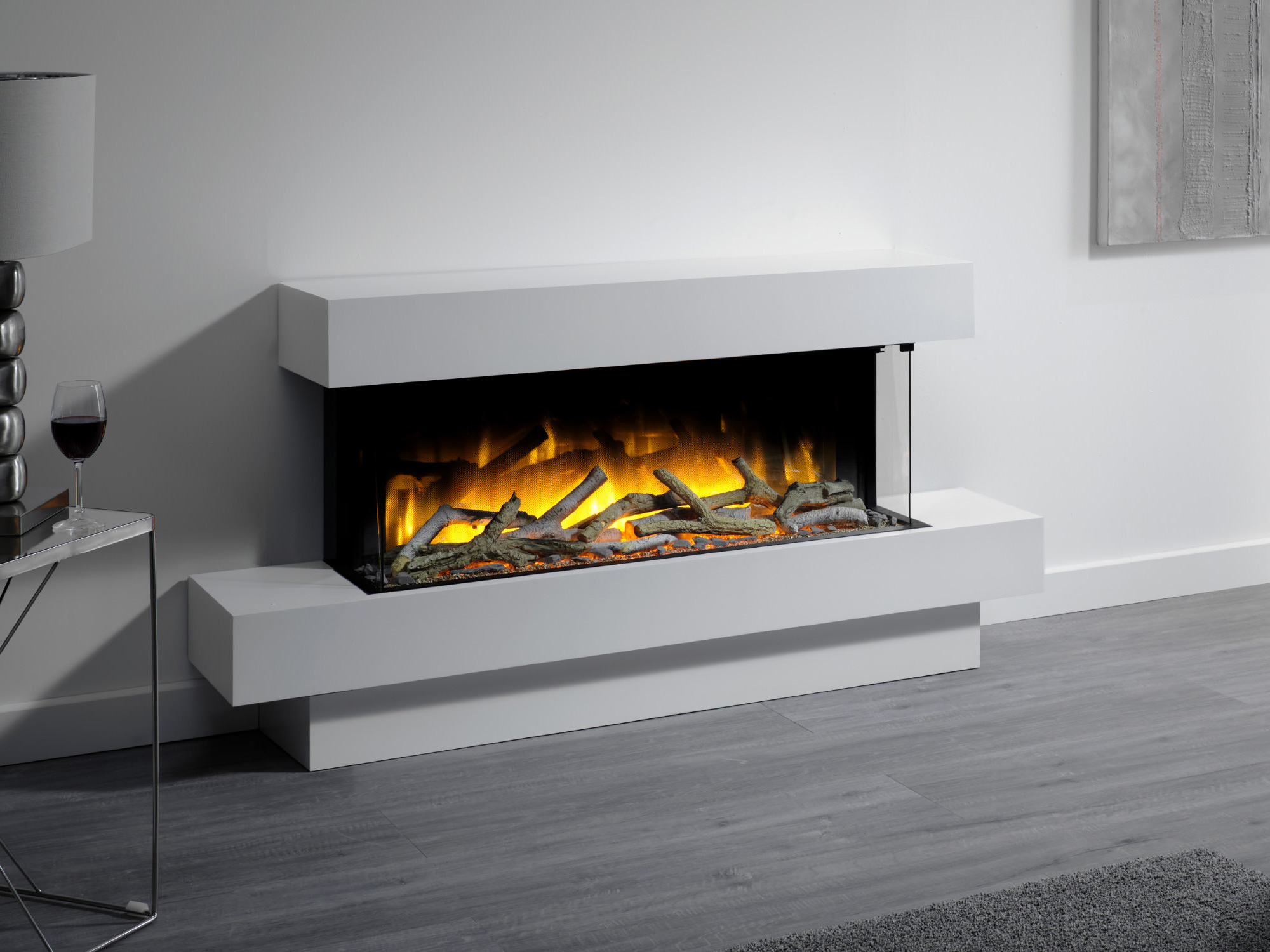 Fires and More -Freestanding Fireplaces Iona 1000