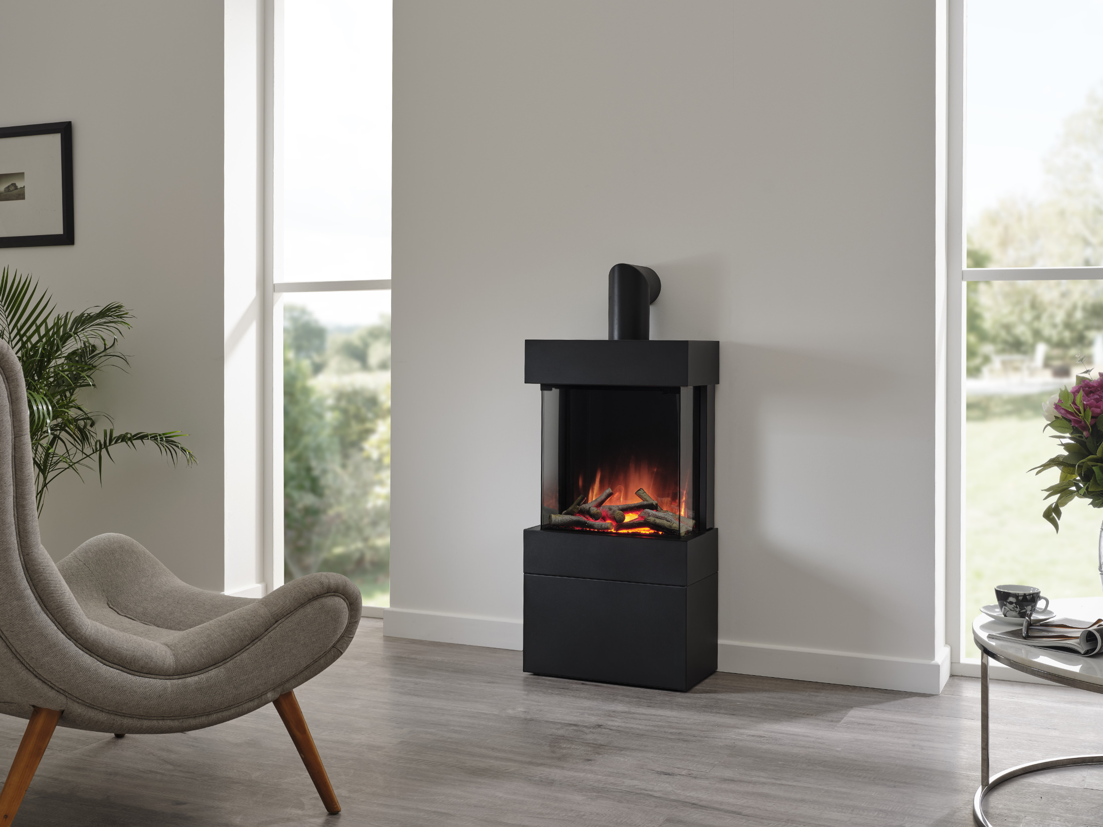 Fires and More - Luca 450 Stove Fire